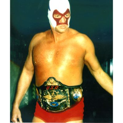 TN Stud in Mask With Title